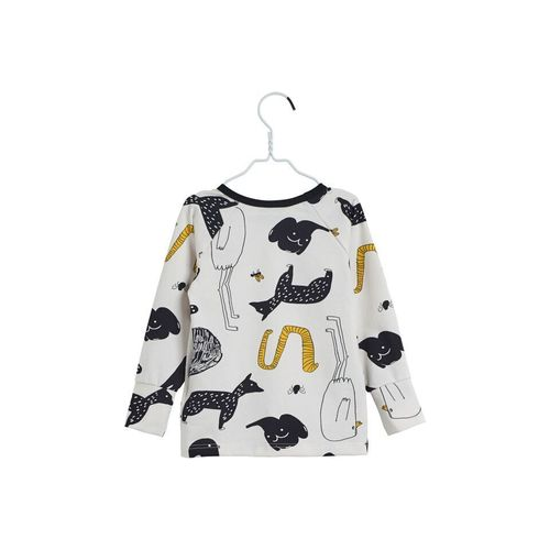 Papu Animal World Fold Shirt White Sand