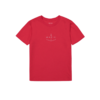 Makia Notch T-Shirt Red