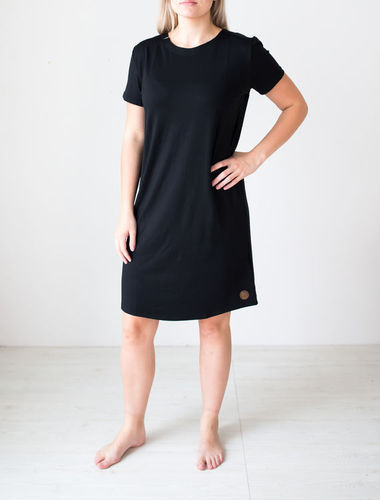 Blaa Hippa Lace Dress Black