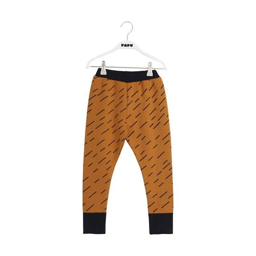 Papu Knit Pants Windy Day Earth Orche/Black