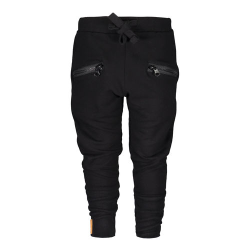 Metsola Zipper Pants Black