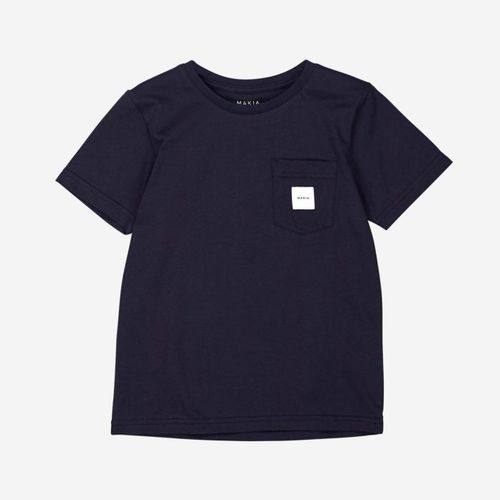 Makia Pocket T-Shirt Dark Blue