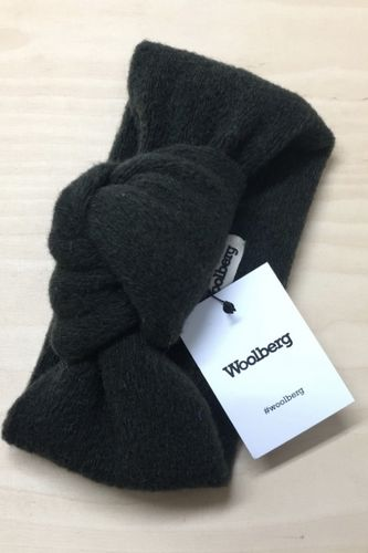 Woolberg Wool Knot Headband Dark Green