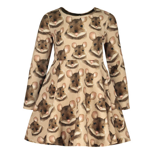 Metsola Mouse Dress Smokegrey