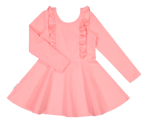 Gugguu Bella Dress Pastel Coral