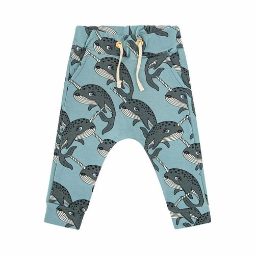 Dear Sophie Narwhal Blue Pants